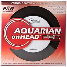 Aquarian onHEAD Portable Electronic Drumsurface Bundle Pak Level 2 10 in. 190839333766