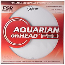 Aquarian onHEAD Portable Electronic Drumsurface Level 1 16 in.