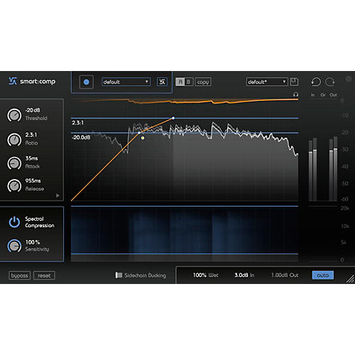 SONIBLE smart:comp Spectro-Dynamic Compressor Plug-in